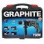 ударная дрель Graphite 58G717, 750 Вт, кейс