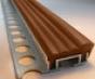 Алюминиевый Угол под кафель Противоскользящие системы длина 2.4