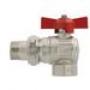 Itap Кран шаровой угловой с накидной гайкой полнопроходной (бабо